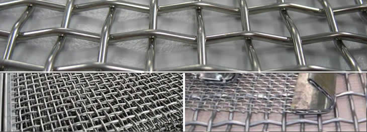 Pre Tensioned Wire Mesh Quarry Screen