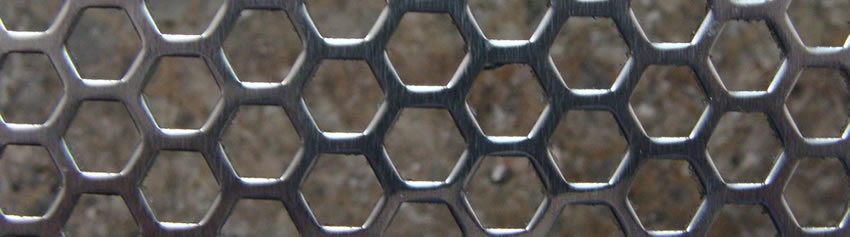 Punched Steel Mesh Backing Grid Layer for Vibrating Mining Screen