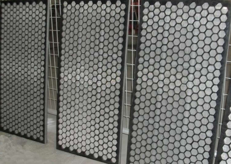 Stainless Steel Mesh Screen for Oil Drilling Motion Vibration, Made of Woven Square Hole Filter Cloth and Steel Frame